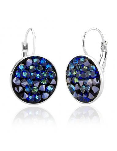Boucles Blue Moon Cristal de Swarovski