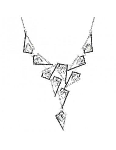 Collier Asymétrique Cristal de Swarovski