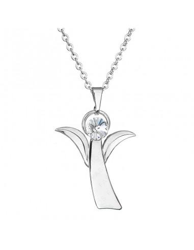 Collier Cristal de Swarovski Ange