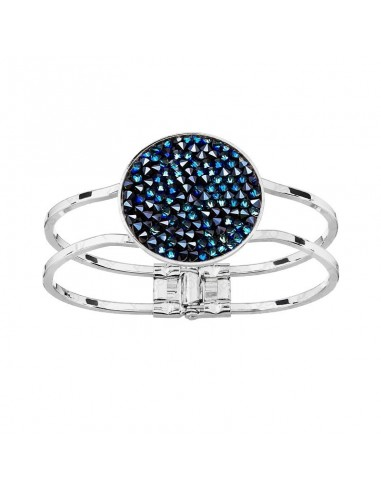 Bracelet Rocks bleu bermude Cristal...