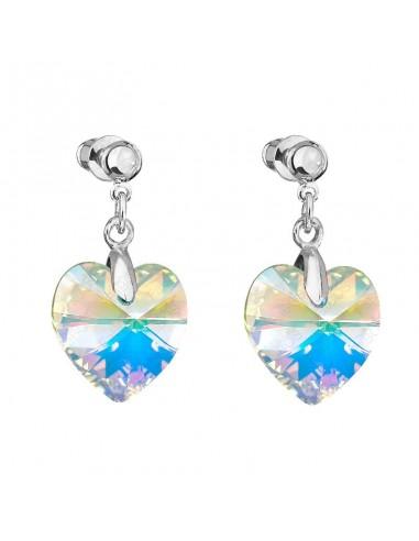 Boucles coeur Cristal de Swarovski