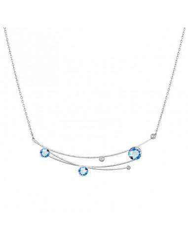 Collier Céleste light sapphire...