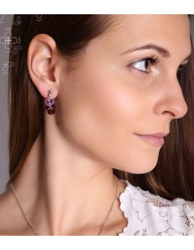 Boucles d'oreilles Cristal Swarovski...