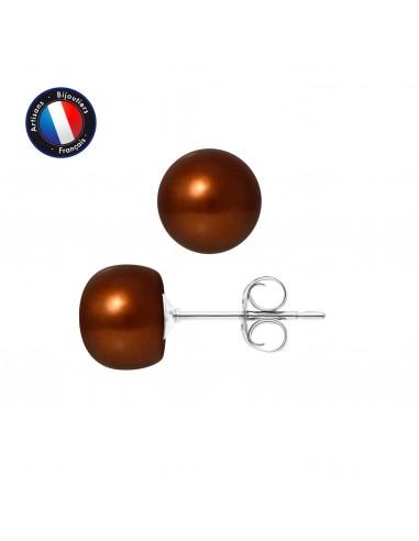 PERLINEA Boucle d'Oreilles Perles de...